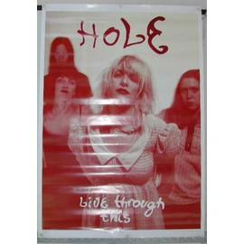 Hole - AFFICHE MUSIQUE / CONCERT / POSTER