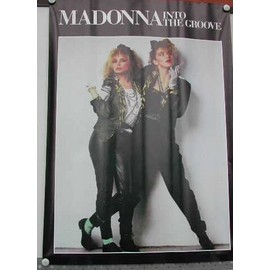 Madonna - Into The Groove - AFFICHE MUSIQUE / CONCERT / POSTER