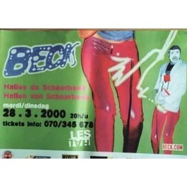 Beck - AFFICHE MUSIQUE / CONCERT / POSTER