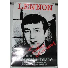 Lennon John - AFFICHE MUSIQUE / CONCERT / POSTER