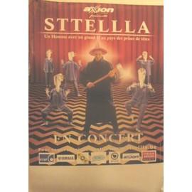 Sttellla - AFFICHE MUSIQUE / CONCERT / POSTER