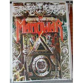 Manowar - AFFICHE MUSIQUE / CONCERT / POSTER