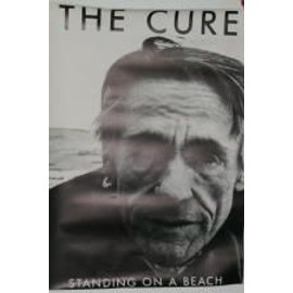 Cure - standing on the beach - AFFICHE MUSIQUE / CONCERT / POSTER