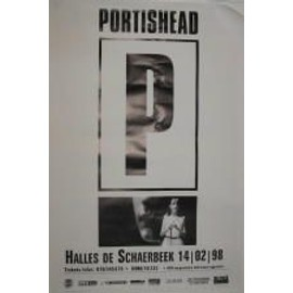 Portishead - B - 1998 - AFFICHE MUSIQUE / CONCERT / POSTER