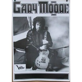 Gary Moore - AFFICHE MUSIQUE / CONCERT / POSTER