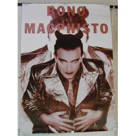 U2 - Bono - AFFICHE MUSIQUE / CONCERT / POSTER