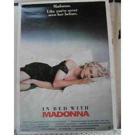 Madonna - In Bed - AFFICHE MUSIQUE / CONCERT / POSTER