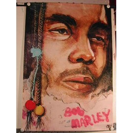 Marley Bob - AFFICHE MUSIQUE / CONCERT / POSTER