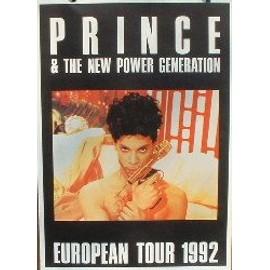 Prince - AFFICHE MUSIQUE / CONCERT / POSTER