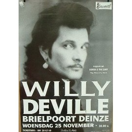 Deville Willy - AFFICHE MUSIQUE / CONCERT / POSTER