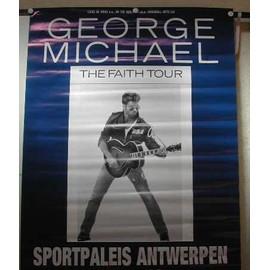 Michael George - AFFICHE MUSIQUE / CONCERT / POSTER
