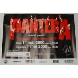 Pantera - B - 2000 - AFFICHE MUSIQUE / CONCERT / POSTER