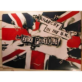 Sex Pistols - AFFICHE MUSIQUE / CONCERT / POSTER