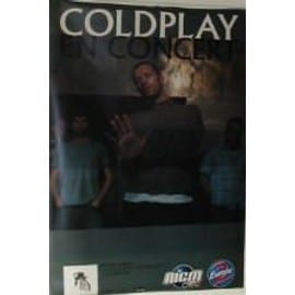 Coldplay - 2003 - AFFICHE MUSIQUE / CONCERT / POSTER