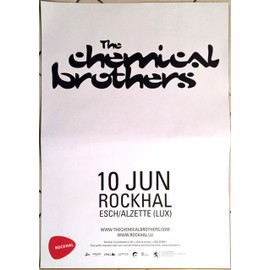 The Chemical Brothers - AFFICHE MUSIQUE / CONCERT / POSTER