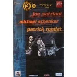 Satriani Joe - G3 - AFFICHE MUSIQUE / CONCERT / POSTER
