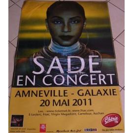 Sade - 2011 - AFFICHE MUSIQUE / CONCERT / POSTER