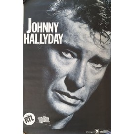 Johnny HALLYDAY - AFFICHE MUSIQUE / CONCERT / POSTER