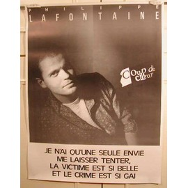 Lafontaine Philippe - AFFICHE MUSIQUE / CONCERT / POSTER