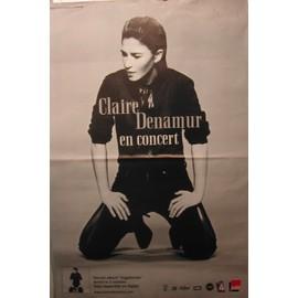 Claire Denamur - Vagabonde - AFFICHE MUSIQUE / CONCERT / POSTER