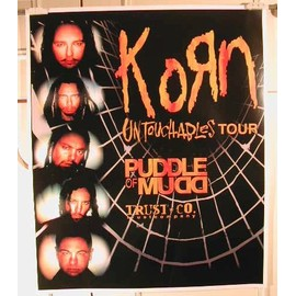 Korn - Puddle Of Mudd - AFFICHE MUSIQUE / CONCERT / POSTER