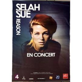 Selah Sue - Reason - AFFICHE MUSIQUE / CONCERT / POSTER