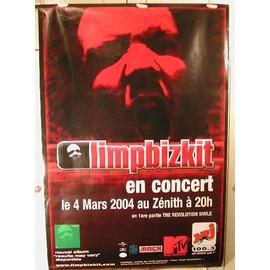 Limp Bizkit - 2004 - AFFICHE MUSIQUE / CONCERT / POSTER