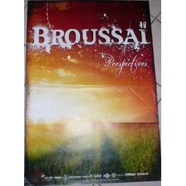 Broussai - Prspectives - AFFICHE MUSIQUE / CONCERT / POSTER