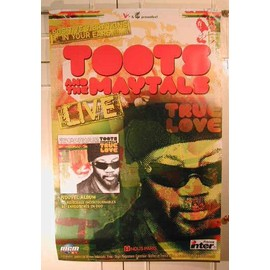 Toots and The Maytals - 2004 - AFFICHE MUSIQUE / CONCERT / POSTER