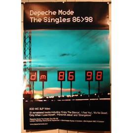 Depeche Mode - AFFICHE MUSIQUE / CONCERT / POSTER