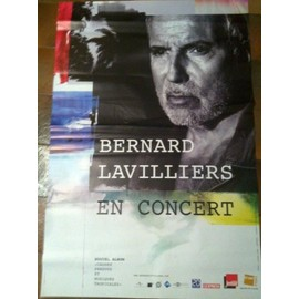 Bernard LAVILLIERS - AFFICHE MUSIQUE / CONCERT / POSTER