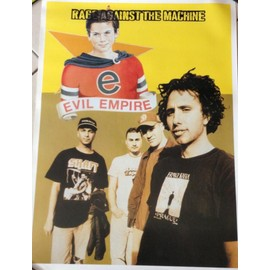 Rage Against The Machine - Evil Empire - AFFICHE MUSIQUE / CONCERT / POSTER