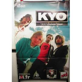 KYO - 300 Lesions tour - AFFICHE MUSIQUE / CONCERT / POSTER