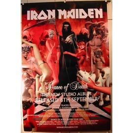 Iron Maiden - Dance Of Death new Album - AFFICHE MUSIQUE / CONCERT / POSTER