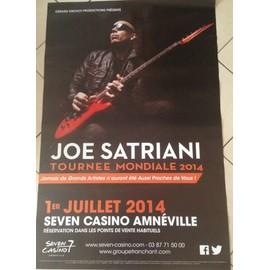 Joe Satriani - AFFICHE MUSIQUE / CONCERT / POSTER