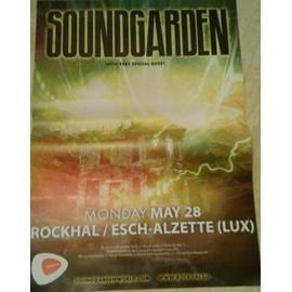 Soundgarden - AFFICHE MUSIQUE / CONCERT / POSTER