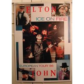 John Elton - AFFICHE MUSIQUE / CONCERT / POSTER