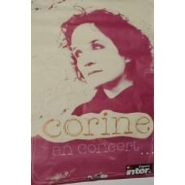 Corine (Telephone) - AFFICHE MUSIQUE / CONCERT / POSTER