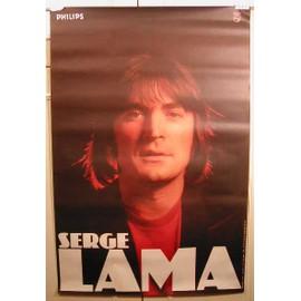 Lama Serge - AFFICHE MUSIQUE / CONCERT / POSTER