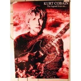 Nirvana - Kurt Cobain - AFFICHE MUSIQUE / CONCERT / POSTER