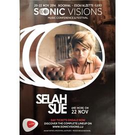 Selah Sue - AFFICHE MUSIQUE / CONCERT / POSTER