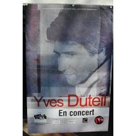 Duteil Yves - 2004 - AFFICHE MUSIQUE / CONCERT / POSTER