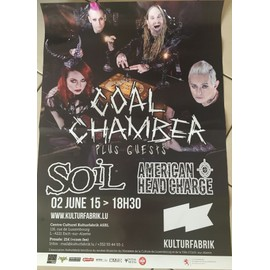 Cool Chamber - Soil - AFFICHE MUSIQUE / CONCERT / POSTER