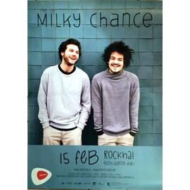Milky Chance - AFFICHE MUSIQUE / CONCERT / POSTER