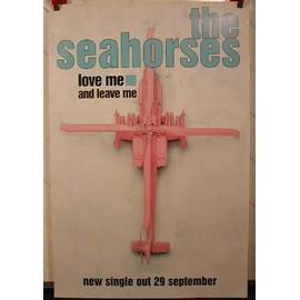 Seahorses The - AFFICHE MUSIQUE / CONCERT / POSTER