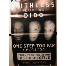 FAITHLESS - DIDO - AFFICHE MUSIQUE / CONCERT / POSTER