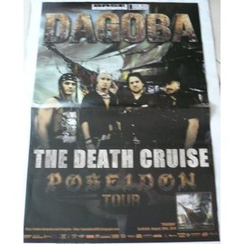 Dagoba - The Death Cruise - AFFICHE MUSIQUE / CONCERT / POSTER