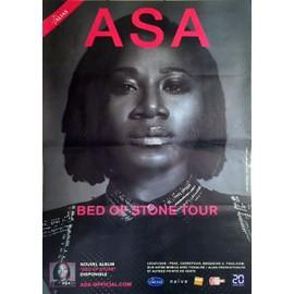 ASA - Bed Of Stone Tour - AFFICHE MUSIQUE / CONCERT / POSTER