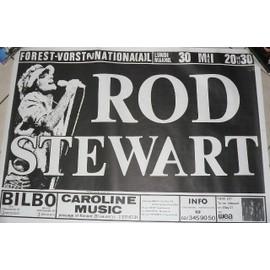 Rod Stewart - AFFICHE MUSIQUE / CONCERT / POSTER