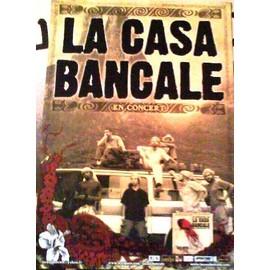 La Casa Bancale - AFFICHE MUSIQUE / CONCERT / POSTER